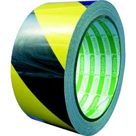 日東エルマテリアル Nitto L Materials 日東エルマテ 粗面反射テープ 50mmx10m 黄/黒 SHT-50YB