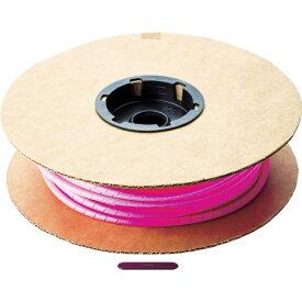 パンドウイット PANDUIT パンドウイット スパイラルラッピング ポリエチレン ピンク T25F-C16