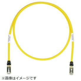 パンドウイット PANDUIT パンドウイット CAT6A/CAT6 シールドパッチコード 10m 黄 STP6X10MYL