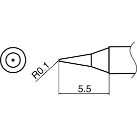 白光 HAKKO 白光 こて先 I型 T35-02I