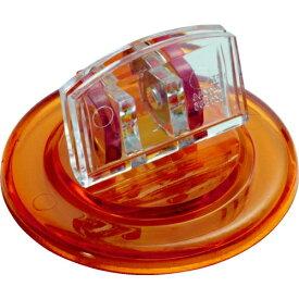 ミツヤ mitsuya ミツヤ U型カード立丸 透明橙 M17639 UC-5-TOR
