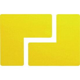 ミドリ安全 MIDORI ANZEN ミドリ安全 ベルデビバ位置決めテープ 黄 2枚×10シート入 VHT-ICHIGIME-Y