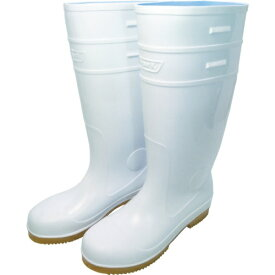 日進ゴム NISSIN RUBBER 日進 耐滑先芯入り長靴 白 28.0cm V4500W-28.0
