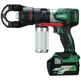 工機ホールディングス Koki HiKOKI 18Vコードレス圧着機5.0Ah VC18DBL-LXPK