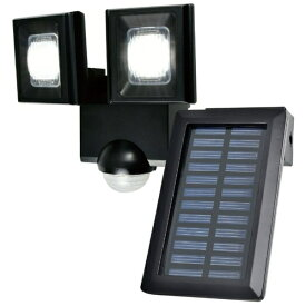 ELPA エルパ 屋外用LEDセンサーライト ソーラー式 2灯 ESL-N112SL [白色 /ソーラー式]