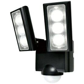 ELPA エルパ 屋外用LEDセンサーライト 乾電池式 2灯 ESL-312DC
