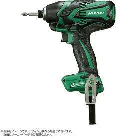 工機ホールディングス Koki HiKOKI インパクトドライバ緑 ACブラシレスモーター WH12VE-SC