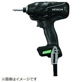 工機ホールディングス Koki HiKOKI インパクトドライバ黒 ACブラシレスモーター WH12VE-SCB