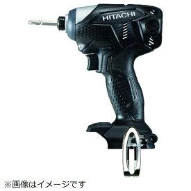 工機ホールディングス Koki HiKOKI 18Vコードレスインパクトドライバ本体のみ ブラック WH18DKL-NN-B
