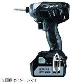 工機ホールディングス Koki HiKOKI 18Vコードレスインパクトドライバ3.0Ah ブラック WH18DKL-2LSCK-B