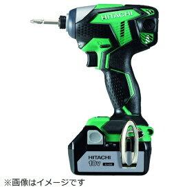工機ホールディングス Koki HiKOKI 18Vコードレスインパクトドライバ3.0Ah グリーン WH18DKL-2LSCK-L