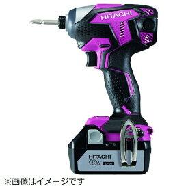 工機ホールディングス Koki HiKOKI 18Vコードレスインパクトドライバ3.0Ah ピンク WH18DKL-2LSCK-R