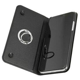 レイアウト rayout iPhone XR 手帳 リング付360 ピタッとカバー