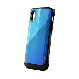 MSソリューションズ iPhone XR 耐衝撃ハイブリッドケース「LEGGERA」 LP-IPMHVLXBL ロイヤルBL