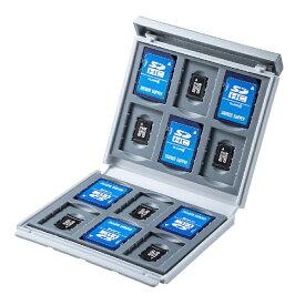 サンワサプライ SANWA SUPPLY SD/microSDカードケース ホワイト FC-MMC4WN