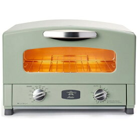 アラジン Aladdin CAT-GS13B/G オーブントースター アラジン2枚焼きグラファイトトースター[グリーン おしゃれ 一人暮らし CATGS13BG]