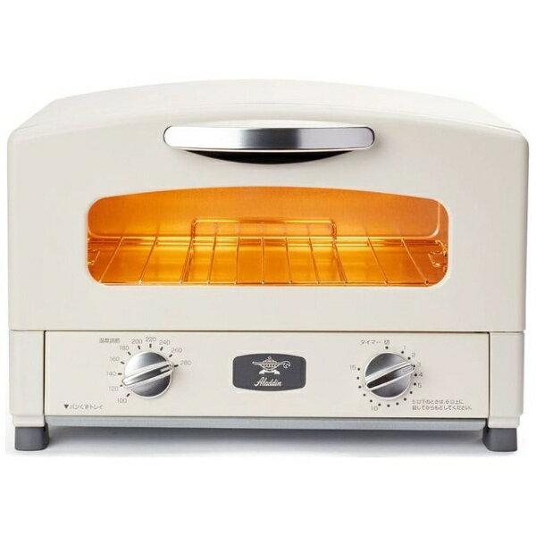 アラジン Aladdin AET-GS13B/W オーブントースター アラジン2枚焼きグラファイトトースター[AETGS13BW]
