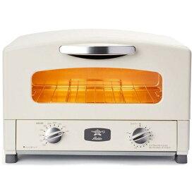 アラジン Aladdin AET-GS13B/W オーブントースター アラジン2枚焼きグラファイトトースター[ホワイト おしゃれ 一人暮らし AETGS13BW]