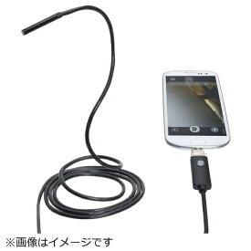サンコー SANKO Android/PC両対応5.5mm径内視鏡ケーブル 2m 形状記憶タイプ MCADNEW2