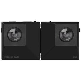 Insta360 CINEVOX/A-BK 180度3D / 360度カメラ Insta360 EVO ブラック[CINEVOXA]