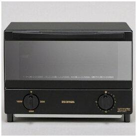 アイリスオーヤマ IRIS OHYAMA KSOT-011-B オーブントースター 2枚焼き ブラック[KSOT011B]