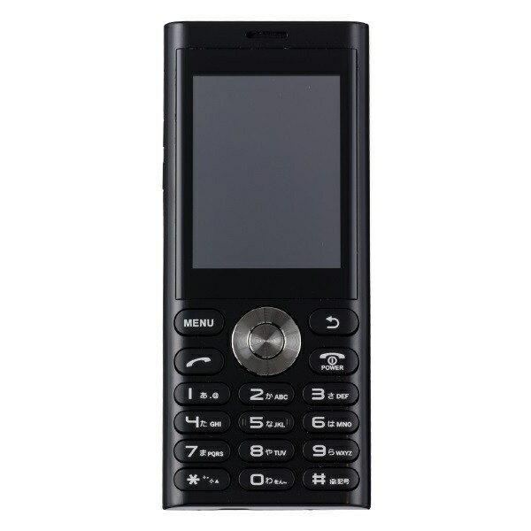 【2019年05月16日発売】 UNMODE un.mode phone01「UM-01BK」ブラック 2.4型・標準SIMx1 ドコモ/ソフトバンク3G対応 SIMフリー携帯電話[UM01BK]