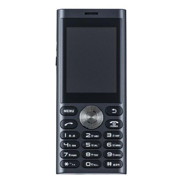 【2019年05月16日発売】 UNMODE un.mode phone01「UM-01MB」マットブラック 2.4型・標準SIMx1 ドコモ/ソフトバンク3G対応 SIMフリー携帯電話[UM01MB]