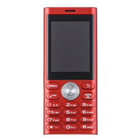 UNMODE un.mode phone01「UM-01R」レッド 2.4型・標準SIMx1 ドコモ/ソフトバンク3G対応 SIMフリー携帯電話[UM01R]