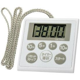 オーム電機 OHM ELECTRIC 時計付き防水タイマー COK-TPW01[COKTPW01]