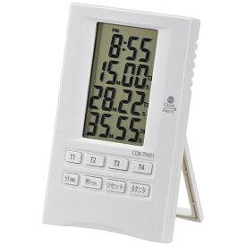 オーム電機 OHM ELECTRIC 時計付き4チャンネルタイマー COK-TIV01[COKTIV01]