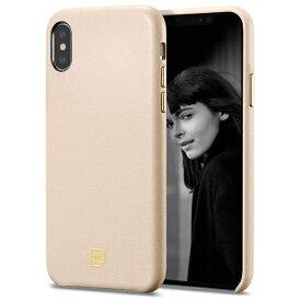 SPIGEN シュピゲン iPhone XS MAX Case La Manon calin Pale Pink (Leather Case)