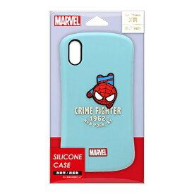 PGA iPhone XR用 シリコンケース PG-DCS584SPM スパイダーマン