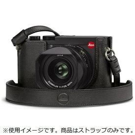 ライカ Leica ライカQ2用 レザーストラップブラック ブラック