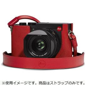 ライカ Leica ライカQ2用 レザーストラップ レッド