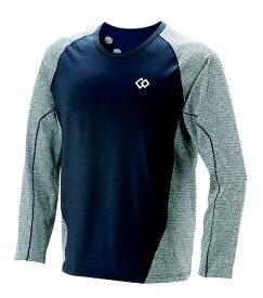 コラントッテ Colantotte メンズ シャツ コラントッテ レスノ スイッチングシャツロングスリーブ(XLサイズ/グレー×ネイビー) AJDJA68XL