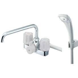 三栄水栓 SANEI SK710LH13 ツーバルブデッキシャワー混合栓