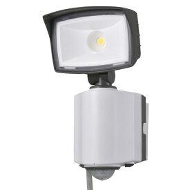 オーム電機 OHM ELECTRIC LEDセンサーライト 多機能型 1灯 コンセント式 OSE-LS1200