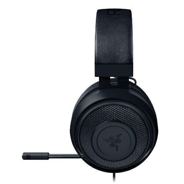 RAZER レイザー Kraken Black RZ04-02830100-R3M1 [φ3.5mmミニプラグ /両耳 /ヘッドバンドタイプ][RZ0402830100R3M1]