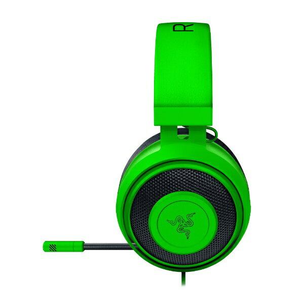 RAZER レイザー Kraken Green RZ04-02830200-R3M1 [φ3.5mmミニプラグ /両耳 /ヘッドバンドタイプ][RZ0402830200R3M1]