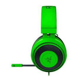 RAZER レイザー RZ04-02830200-R3M1 ゲーミングヘッドセット Kraken Razer Green [φ3.5mmミニプラグ /両耳 /ヘッドバンドタイプ][RZ0402830200R3M1]