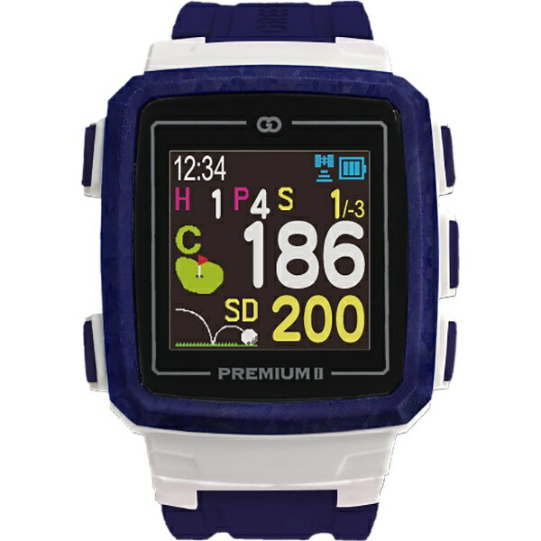 MASA GPS ゴルフナビゲーション ザ・ゴルフウォッチプレミアムII(インディゴブルー) G014L