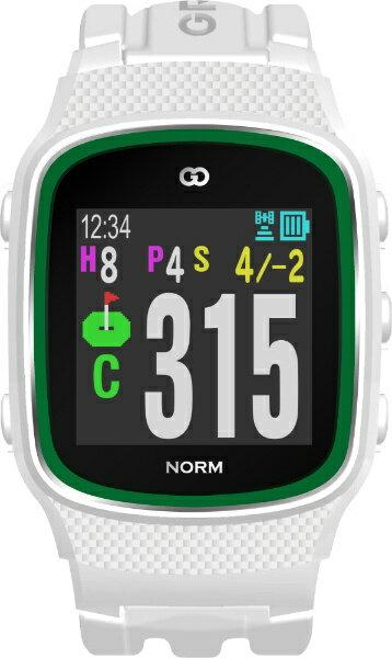 MASA GPSゴルフナビゲーション ザ・ゴルフウォッチ ノルム(ホワイト) G015W