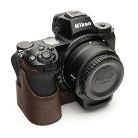 Ya Mei Technology ヤ メイ テクノロジー ニコンZシリーズ用革製カメラボディケース TB06Z7CO ダークブラウン ダークブラウン