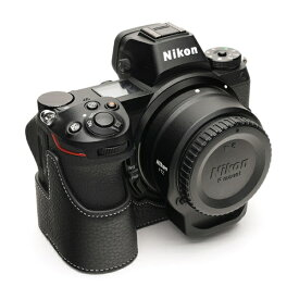 Ya Mei Technology ヤ メイ テクノロジー ニコンZシリーズ用革製カメラボディケース TB06Z7BK ブラック TB06Z7BK ブラック