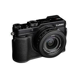 Ya Mei Technology ヤ メイ テクノロジー パナソニック LX100 II用革製カメラボディケース TB06LX102BK ブラック TB06LX102BK ブラック