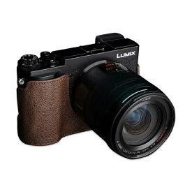 Ya Mei Technology ヤ メイ テクノロジー パナソニック GX7MK3(GX9)用革製カメラボディケース TB06GX9CO ダークブラウン TB06GX9CO ダークブラウン