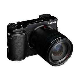 Ya Mei Technology ヤ メイ テクノロジー パナソニック GX7MK3(GX9)用革製カメラボディケース TB06GX9BK ブラック TB06GX9BK ブラック