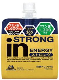 森永製菓 MORINAGA inゼリー エネルギーストロング【栄養ドリンク味/180g】36JMM94200【旧パッケージでの返品不可】