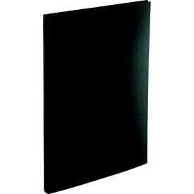 リヒトラブ LIHIT LAB. リヒト 名刺帳(ポケット交換タイプ)300カード 黒 A5042-24