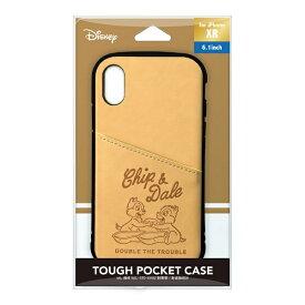 PGA iPhone XR用 タフポケットケース PG-DCS697CPD チップ&デール